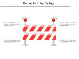 Barrier To Entry Railing