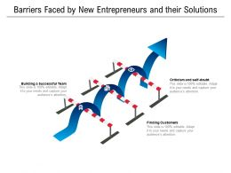 Barriers Faced By New Entrepreneurs And Their Solutions