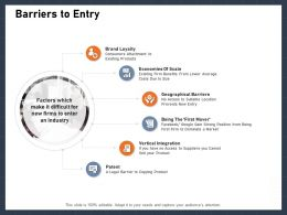 Barriers To Entry Google Gain Ppt Powerpoint Presentation Summary Pictures