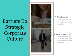 Barriers To Strategic Corporate Culture Powerpoint Slide Rules