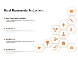 Basal Thermometer Instructions Ppt Powerpoint Presentation File Show