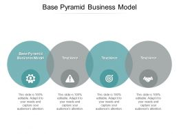 Base Pyramid Business Model Ppt Powerpoint Presentation Styles Cpb