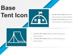 Base Tent Icon