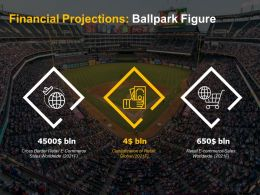 Baseball Ballpark Figure E Commerce Sales Trends Projection Data