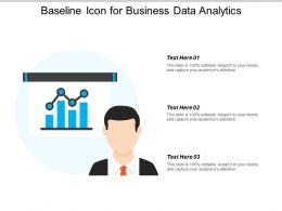 Baseline Icon For Business Data Analytics