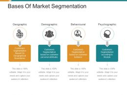 Bases Of Market Segmentation Powerpoint Graphics