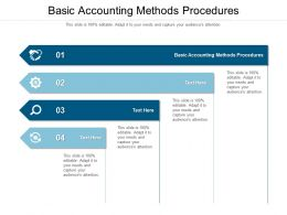 Basic Accounting Methods Procedures Ppt Powerpoint Summary Portrait Cpb