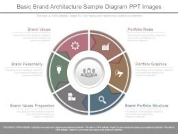 Basic Brand Architecture Sample Diagram Ppt Images