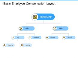 Basic Employee Compensation Layout Benefits Ppt Powerpoint Presentation Format Ideas
