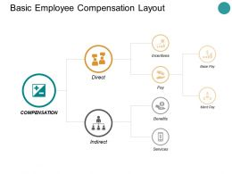 Basic Employee Compensation Layout Ppt Powerpoint Presentation Icon