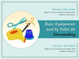 Basic Equipments Used By Tailor For Dressmaking