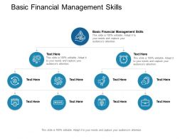 Basic Financial Management Skills Ppt Powerpoint Presentation Visual Cpb