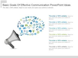 Basic Goals Of Effective Communication Powerpoint Ideas