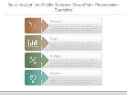 Basic Insight Into Public Behavior Powerpoint Presentation Examples