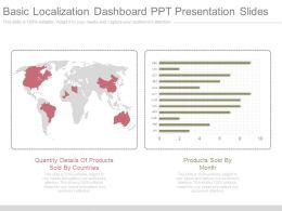 Basic Localization Dashboard Ppt Presentation Slides