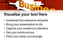 basic_marketing_concepts_templates_business_break_through_metaphor_company_ppt_theme_powerpoint_Slide02