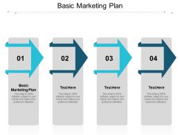 Basic Marketing Plan Ppt Powerpoint Presentation Gallery Graphics Design Cpb