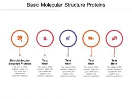 Basic Molecular Structure Proteins Ppt Powerpoint Presentation Professional Themes Cpb