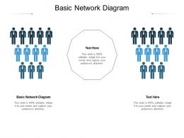 Basic Network Diagram Ppt Powerpoint Presentation Summary Images Cpb