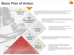 Basic Plan Of Action Ppt Powerpoint Presentation Model Rules