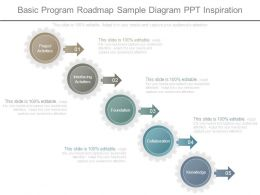 Basic Program Roadmap Sample Diagram Ppt Inspiration