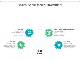 Basics Share Market Investment Ppt Powerpoint Presentation Summary Slideshow Cpb