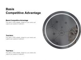 Basis Competitive Advantage Ppt Powerpoint Presentation Model Slide Cpb