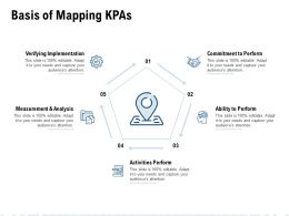 Basis Of Mapping KPAs Ppt Powerpoint Presentation Images