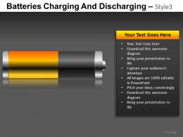 Batteries Charging 3 Powerpoint Presentation Slides DB