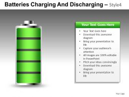 Batteries Charging 4 Powerpoint Presentation Slides DB