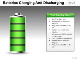 Batteries Charging 4 Powerpoint Presentation Slides DB