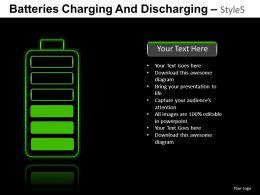 Batteries Charging 5 Powerpoint Presentation Slides DB