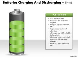Batteries Charging And Discharging Style 12