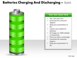 Batteries Charging And Discharging Style 1 ppt 2