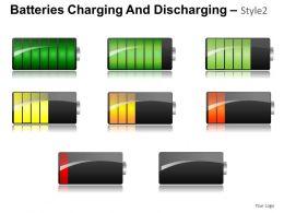 Batteries Charging Style 2 Powerpoint Presentation Slides