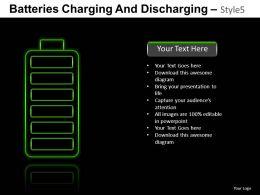 Batteries Charging Style 5 Powerpoint Presentation Slides