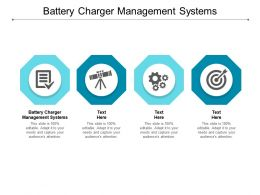 Battery Charger Management Systems Ppt Powerpoint Presentation Ideas Example Introduction Cpb