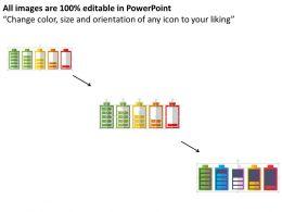 battery_charging_discharging_condition_flat_powerpoint_design_Slide02