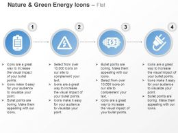 Battery Power Cord Energy Plug Ppt Icons Graphics