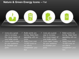 Battery Symbol Full Charge Discharge Indication Ppt Icons Graphics