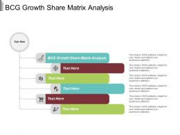 BCG Growth Share Matrix Analysis Ppt Powerpoint Presentation Pictures Format Ideas Cpb
