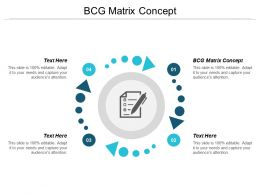 BCG Matrix Concept Ppt Powerpoint Presentation Pictures Example Topics Cpb