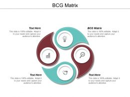 BCG Matrix Ppt Powerpoint Presentation Pictures Design Inspiration Cpb