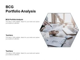 BCG Portfolio Analysis Ppt Powerpoint Presentation Model Portfolio Cpb