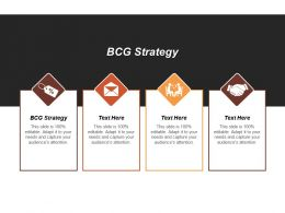 Bcg Strategy Ppt Powerpoint Presentation Infographic Template Gallery Cpb