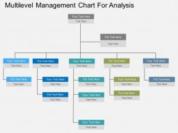 bd Multilevel Management Chart For Analysis Flat Powerpoint Design