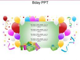 Bday PPT