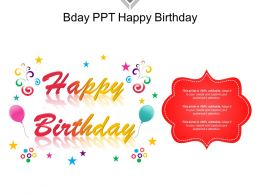Bday Ppt Happy Birthday