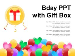 Bday Ppt With Gift Box