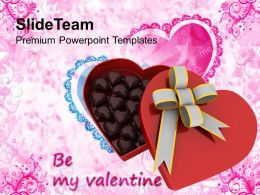 Be My Valentine Gift Celebration PowerPoint Templates PPT Themes And Graphics 0213